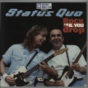 Click here for more info about 'Status Quo - Rock Til You Drop'