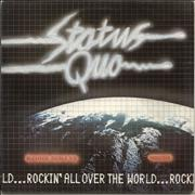 Click here for more info about 'Status Quo - Rockin' All Over The World'