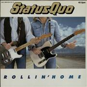 Click here for more info about 'Status Quo - Rollin' Home'