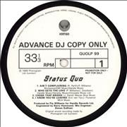 Click here for more info about 'Status Quo - Ain't Complaining - Album Sampler'