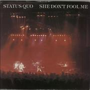 Click here for more info about 'Status Quo - She Don't Fool Me'