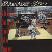 Click here for more info about 'Status Quo - Sheri Don't Fail Me Now'