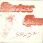 Click here for more info about 'Status Quo - Something 'Bout You Baby I Like - Red'