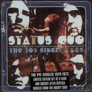 Click here for more info about 'Status Quo - The 70s Singles Box'