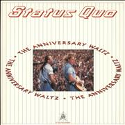 "Status Quo The Anniversary Waltz UK 12"" vinyl"