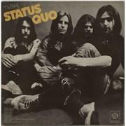 Status Quo The Best Of - Translucent Red Vinyl UK vinyl LP