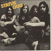 Click here for more info about 'Status Quo - The Best Of - Slate Blue Vinyl'