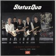 Click here for more info about 'Status Quo - The Party Ain't Over Yet... + Stub & T-Shirt'