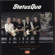 Click here for more info about 'Status Quo - The Party Ain't Over Yet... + Stub, T-Shirt & Plastic Bag'