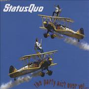 Click here for more info about 'Status Quo - The Party Ain't Over Yet...'