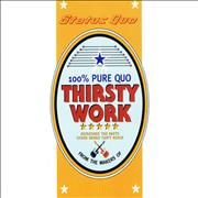 Click here for more info about 'Status Quo - Thirsty Work Sampler'
