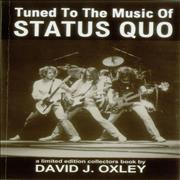 Click here for more info about 'Status Quo - Tuned To The Music Of Status Quo - Autographed by Author'