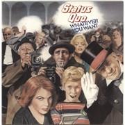 Status Quo Whatever You Want - EX UK vinyl LP