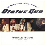 Click here for more info about 'Status Quo - Whatever You Want World Tour + Ticket Stubs'