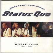 Click here for more info about 'Status Quo - Whatever You Want World Tour 1997-1998'