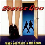 Click here for more info about 'Status Quo - When You Walk In The Room'