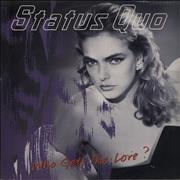 Click here for more info about 'Status Quo - Who Gets The Love?'