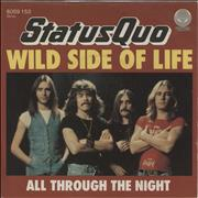 Click here for more info about 'Status Quo - Wild Side Of Life'