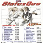 Click here for more info about 'Status Quo - XS All Areas - The Greatest Hits Tour'