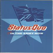 Click here for more info about 'Status Quo - You're In The Army Now + Ticket Stub'