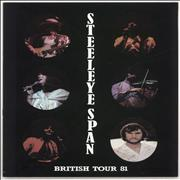 Click here for more info about 'Steeleye Span - British Tour 81'