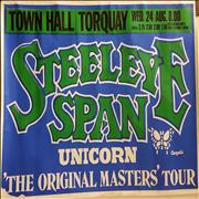 Click here for more info about 'Steeleye Span - Torquay Concert Poster'