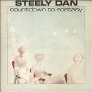 Steely Dan Countdown To Ecstasy - Smooth p/s UK vinyl LP