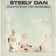 Steely Dan Countdown To Ecstasy - Textured P/S UK vinyl LP