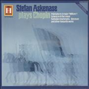 Stefan Askenase Stefan Askenase Plays Chopin UK vinyl LP