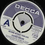 Click here for more info about 'Stephen Jameson - Nothing Without Your Love - A Label'