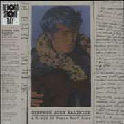 Click here for more info about 'Stephen John Kalinich - A World Of Peace Must Come - RSD'