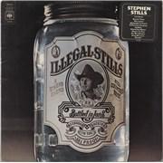 Stephen Stills Illegal Stills - Stickered Sleeve UK vinyl LP