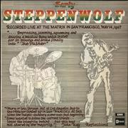 Click here for more info about 'Steppenwolf - Early Steppenwolf'