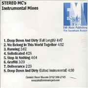 Click here for more info about 'Stereo MCs - Instrumental Mixes'