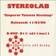 Click here for more info about 'Stereolab - Emperor Tomato Ketchup'