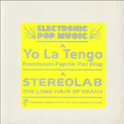 Click here for more info about 'Stereolab - The Long Hair Of Death - Yellow vinyl'