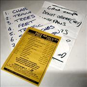 Click here for more info about 'Stereophonics - Set List & Flyer'