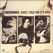 Click here for more info about 'Stereophonics - Since I Told You It's Over'