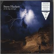 Click here for more info about 'Steve Hackett - At The Edge Of Light - 180gram White Vinyl + CD - Sealed'