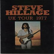 Click here for more info about 'Steve Hillage - UK Tour 1977 + Ticket Stub'