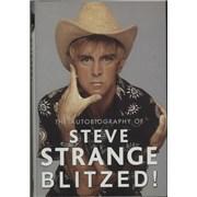 Steve Strange Blitzed! The Autobiography Of Steve Strange UK book