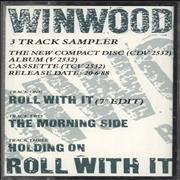 Click here for more info about 'Steve Winwood - Roll With It - Sampler'