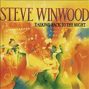 Click here for more info about 'Steve Winwood - Talking Back To The Night + Back Catalogue insert'
