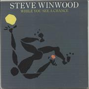 Click here for more info about 'Steve Winwood - While You See A Chance - P/S'