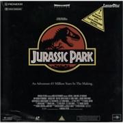 Steven Spielberg Jurassic Park UK laserdisc
