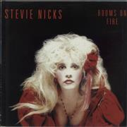 Click here for more info about 'Stevie Nicks - Rooms On Fire - Poster Sleeve'