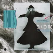Click here for more info about 'Stevie Nicks - Talk To Me - White Label + Insert'