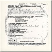 Click here for more info about 'Stevie Ray Vaughan - Blues At Sunrise'