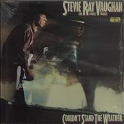 Stevie Ray Vaughan Couldn't Stand The Weather + Shrinkwrap Netherlands vinyl LP