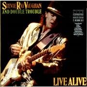 Stevie Ray Vaughan Live Alive Netherlands 2-LP vinyl set